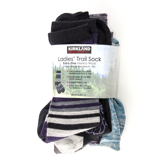 4f79ddace Kirkland Signature Merino Wool Trail Socks
